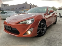 2015 TOYOTA 86 2.0 GT MANUAL ORANGE JAPAN SPEC UNREG
