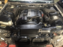 Bmw E46 330i Engine set  with gearbox complete  ms ports  Half-cut