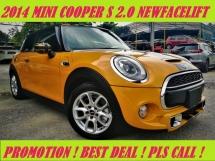 2014 MINI 3 DOOR COOPER S 2.0