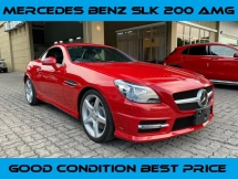 2015 MERCEDES-BENZ SLK SLK200 AMG 2.0