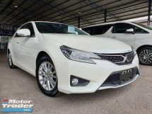 2014 TOYOTA MARK X 250G S PACKAGE TIPTOP CONDITION GRADE 4.5B ACCIDENT FREE KL AP CHEAPEST PRICE