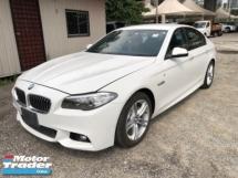 2014 BMW 5 SERIES Unreg BMW 520i 2.0 Turbo Camera M Sport Push Start 8G