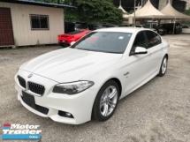 2014 BMW 5 SERIES Unreg BMW 520i 2.0 M Sport Camera Leather Seats Turbo 8Speed