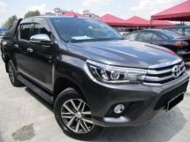 2016 TOYOTA HILUX 2.8 (a) 4x4 diesel intercooler turbo new model car king no offroad