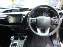2016 TOYOTA HILUX 2.8 (a) 4x4 diesel intercooler turbo new model car king no offroad