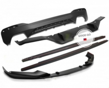 BMW G30 M Performance body kit front side skirt rear diffuser Exterior & Body Parts > Car body kits