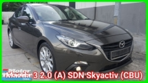 2015 MAZDA 3 2.0 (CBU) Sedan Skyactiv ( No Processing Fees Charge ) Ori 47k Km Mileage Confirm Accident Free Full Service History Worth Buy