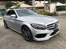 2014 MERCEDES-BENZ C-CLASS C180 AMG SPORT JAPAN FULL SPEC 2014 UNREG KEYLESS PUSHSTART