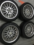 BMW E39 17 INCH SPORTS RIMS ORIGINAL STAGGERED  Rims & Tires