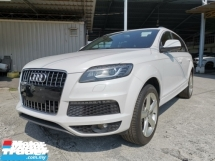 2011 AUDI Q7 3.0 TFSI S Line Quattro Unregister 1 YEAR WARRANTY