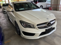 2014 MERCEDES-BENZ CLA 250 AMG sport package memory seats back camera unregistered