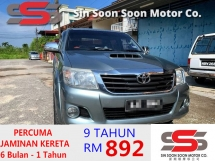 2012 TOYOTA HILUX 2.5 G VNT PREMIUM with BEHIND COVERED BOX FULL Spec(AUTO)2012 Only 1 UNCLE Owner, 88K Mileage, TIPTOP, ACCIDENT-Free, DIRECT-Owner