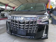 2018 TOYOTA ALPHARD SC FULL SPEC FINAL OFFER NEW MODEL UNREG 2018