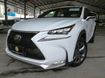 2016 LEXUS NX 200 T F-SPORT FINAL OFFER  UNREG 2016