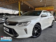 2015 TOYOTA CAMRY 2.5 (A) HYBRID GOOD CONDITION FULL SERVICE RECORD BY TOYOTA PROMOTION PRICE.