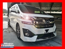 2017 TOYOTA VELLFIRE 3.5 EXECUTIVE LOUNGE FULL SPEC - UNREG - VIEW NOW