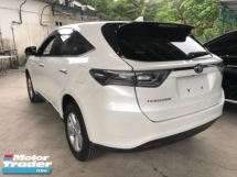 2015 TOYOTA HARRIER Unreg Toyota Harrier 2.0 360view PowerBoot Push Start 7G