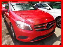 2015 MERCEDES-BENZ A-CLASS A180 EXCLUSIVE EDITION - 2 MEMORY SEAT/TWO TONED - UNREG