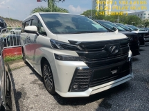 2016 TOYOTA VELLFIRE 2.5 ZG PILOT SEATS ** POWER SUNROOF / MOONROOF ** FREE 2 YEAR WARRANTY ** MANY UNIT TO CHOOSE ** OFFER OFFER