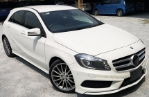 2014 MERCEDES-BENZ A-CLASS 2014 MERCEDES BENZ A180 AMG 1.6 TURBO UNREG JAPAN SPEC CAR SELLING PRICE ONLY ( RM 126,000.00 NEGO )