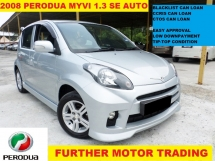 2008 PERODUA MYVI 1.3 SE (A) FULL SPEC, FULL LEATHER SEAT, CAREFUL OWNER , TIP-TOP CONDITION