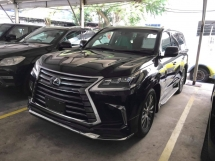2016 LEXUS LX570 DEMO UNIT FULL SPEC UNREG 1 YEAR WARRANTY