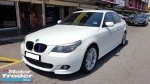 2009 BMW 5 SERIES 525I M-SPORTS 2.5cc (A) REG 2009, CAREFUL OWNER, LOW MILEAGE DONE 105K KM, FREE 1 YEAR GMR CAR WARRANTY, 18