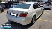2009 BMW 5 SERIES 525I M-SPORTS 2.5cc (A) REG 2009, CAREFUL OWNER, LOW MILEAGE DONE 105K KM, FREE 1 YEAR GMR CAR WARRANTY, 18\