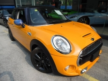 2014 MINI 3 DOOR COOPER S 2.0 TURBO HATCHBACK
