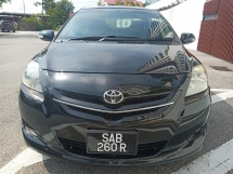2008 TOYOTA VIOS  1.5 S Low High Spec Low Mileage