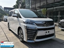 2018 TOYOTA VELLFIRE 3.5Z G EDITION ZG FULL SPEC Like NEW