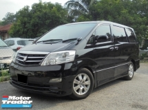 2007 TOYOTA ALPHARD 3.0 G MZG Sunroof Moonroof 2Powerdoor Powerboot 3SideCamera Reg.2012