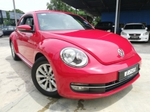 2014 VOLKSWAGEN BEETLE 1.2 (A) TURBO FULL SERVICE RECORD TIP-TOP