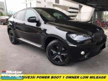 2010 BMW X6 XDRIVE 35I POWER BOOT ONE DATO OWNER SUPER LOW MILEAGE LIKE NEW