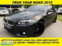 2015 BMW 5 SERIES 528I F10 M-SPORT NEW FACE FACELIFT LOCAL FULL SPEC DIGITAL METER  LOCAL SPEC MALAYSIA