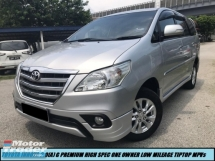 2016 TOYOTA INNOVA 2.0G (AT) G PREMIUM HIGH SPEC LOW MILEAGE ONE OWNER TIPTOP CONDITION LIKE NEW CAR MPVs