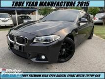 2015 BMW 5 SERIES 528I M-SPORT PREMIUM SPORT DIGITAL METER HIGH SPEC SHOWROOM CONDITION ONE OWNER TIPTOP CONDITION