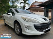 2009 PEUGEOT 308 1.6 TURBO (A) PANAROMIC ROOF