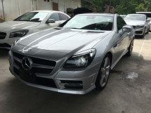 2014 MERCEDES-BENZ SLK SLK200 1.8 AMG CONVERTIBLE WITH MAGIC ROOF LED DAYLIGHT JAPAN SPEC