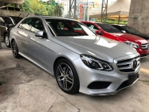 2014 MERCEDES-BENZ E-CLASS E250 E200 AMG Edition 2.0 Turbocharged 7G-Tronic 360 View Surround Camera Distronic PLUS Intelligent LED Hi Beam Blind Spot Assist Paddle Shift Bluetooth Connectivity Unreg
