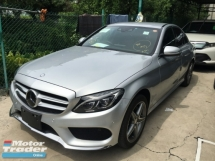 2015 MERCEDES-BENZ C-CLASS C200 C200 2.0 AMG SPORT TURBO P/C JAPAN SPEC (RM) 199,000.