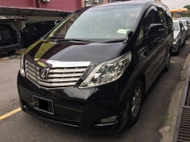 2008 TOYOTA ALPHARD 2.4 G Registered 2011