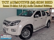 2015 ISUZU D-MAX 3.0 (A) ARTIC LIMITED EDITION VGS TURBO PICK UP