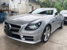 2014 MERCEDES-BENZ SLK SLK200 AMG Sport Japan Spec Fully Loaded Magic Roof Chronograph Keyless Push Start Memory Bucket Sea