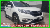 2016 HONDA CR-V 2.4 i-VTEC 4WD Facelift Ori 52k Km Mileage Full Service History 5 Year And Unlimited Mileage Warranty Until 2020 Worth Buy
