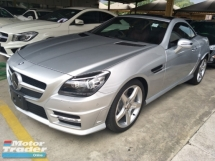 2014 MERCEDES-BENZ SLK 200 1.8cc AMG MAGIC ROOF EDITION JAPAN SPEC BI XENON PROJECTOR LED HEADLAMPS 2 MEMORY LEATHER SEATS