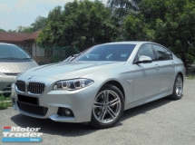 2016 BMW 5 SERIES 520i 2.0 M Sport F10 Facelift PaddleShift NAVI UnderWarranty (FSR)