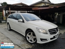 2011 MERCEDES-BENZ R-CLASS Actual 2011 Mercedes Benz R300 R350 3.0 AMG MPV Facelift 7Speed Loan 9year