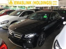 2017 MERCEDES-BENZ E-CLASS E200D DIESEL  2.0 AMG SPORT 9G TURBO NEW MODEL