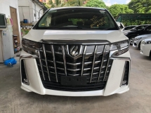 2018 TOYOTA ALPHARD 2.5 SC SUNROOF FACELIFT UNREG JAPAN